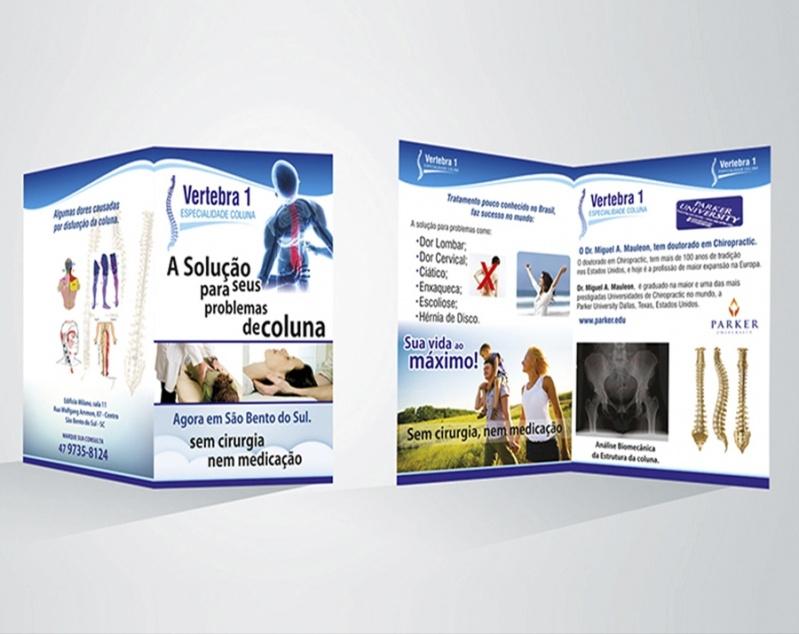 25f87302a6c44 Folder de Apresentação de Empresa Jardim Bonfiglioli - Folder de Festa