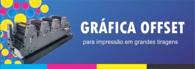 Gráfica Impressão Off Set Jardim Guarapiranga - Gráfica Impressão de Malas Diretas