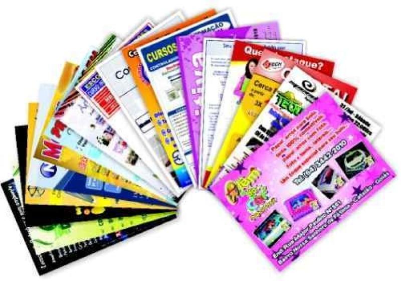 Orçamento de Panfletos de Salgados Tatuapé - Panfletos de Restaurante