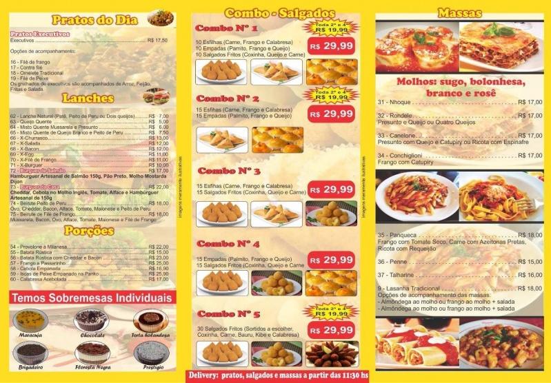 Orçamento de Panfletos de Supermercados Bonsucesso - Panfletos de Restaurante