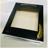 caixas personalizadas com visor Ponte Rasa