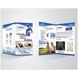 folder de apresentação de empresa Ponte Rasa