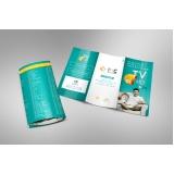 folders de apresentação de produtos Pacaembu