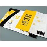 folders de promoção Condomínio Veigas