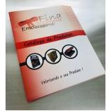 impressão catálogo de produto Vila Rio de Janeiro