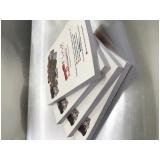 impressão de catálogos e revistas preço Jardim Aracília