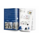 impressão de catálogos preço Suzano