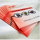 orçamento de impressão de catálogos e revistas Pinheiros
