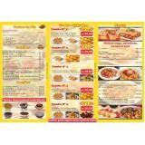 orçamento de panfletos de restaurante Picanço