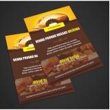 panfletos de salgados preço Nova Piraju