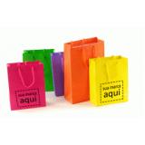 sacola personalizada preço Parque São Lucas